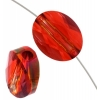 10x8mm Red Magma Crystal